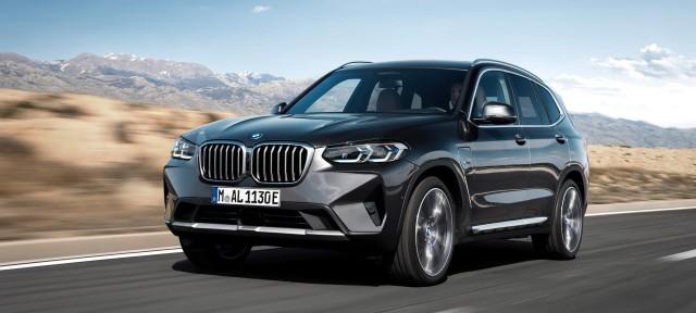 Новые BMW X3 и BMW X4: